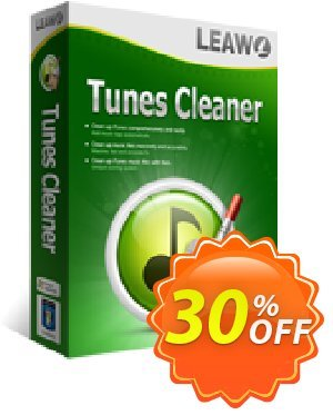 Leawo Tunes Cleaner [LIFETIME] Coupon, discount Leawo coupon (18764). Promotion: Leawo discount