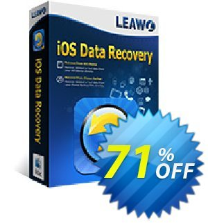 Leawo iOS Data Recovery for Mac [LIFETIME] Coupon, discount Leawo coupon (18764). Promotion: Leawo discount