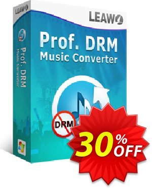Leawo Prof. DRM Music Converter discount coupon Leawo coupon (18764) - Leawo discount