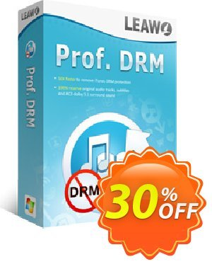 Leawo Prof. DRM eBook Converter Coupon, discount Leawo coupon (18764). Promotion: Leawo discount