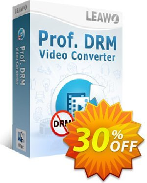 Leawo Prof. DRM Video Converter For Mac discount coupon Leawo coupon (18764) - Leawo discount