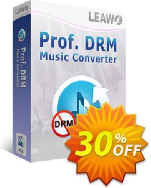 Leawo Prof. DRM Music Converter For Mac 優惠券,折扣碼 Leawo coupon (18764),促銷代碼: Leawo discount