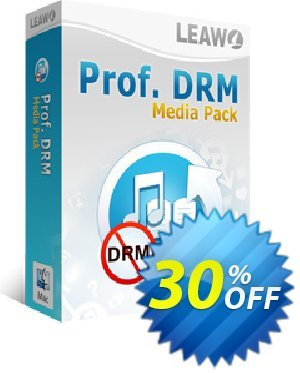 Leawo Prof. DRM Media Pack For Mac discounts