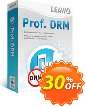 Leawo Prof. DRM eBook Converter For Mac Coupon, discount Leawo coupon (18764). Promotion: Leawo discount