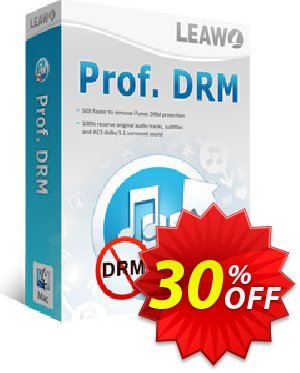 Leawo Prof. DRM For Mac Coupon, discount Leawo coupon (18764). Promotion: Leawo discount
