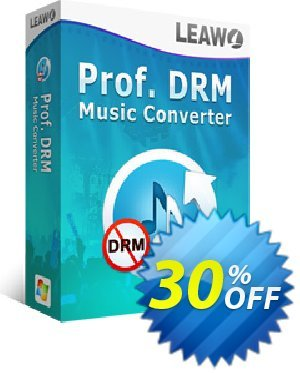 Leawo Prof. DRM Spotify Converter Coupon, discount Leawo coupon (18764). Promotion: Coupon Prof. DRM Spotify Converter