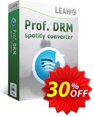 Leawo Prof. DRM Spotify Converter For Mac offering sales