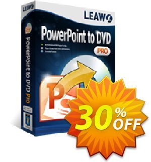 Leawo PowerPoint to DVD Standard offering sales