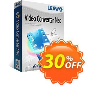 Leawo Video Converter for Mac Coupon, discount Leawo coupon (18764). Promotion: Leawo discount