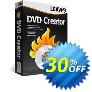 Leawo DVD Creator Coupon, discount Leawo coupon (18764). Promotion: Leawo discount