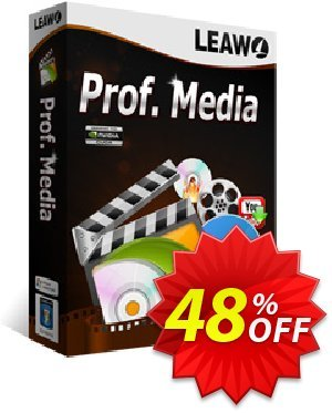 Leawo Prof. Media Coupon, discount Leawo Prof. Media imposing discounts code 2020. Promotion: imposing discounts code of Leawo Prof. Media 2020