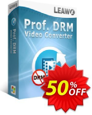 Leawo Prof. DRM Video Converter offering sales