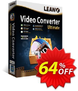 Leawo Video Converter Ultimate discount coupon Leawo coupon (18764) - Leawo discount