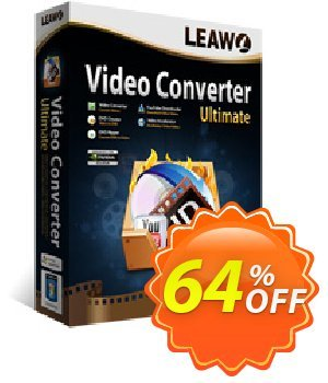 Leawo Video Converter Ultimate Coupon, discount Leawo coupon (18764). Promotion: Leawo discount