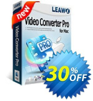 Leawo Video Converter Pro for Mac 프로모션 코드 Leawo coupon (18764) 프로모션: Leawo discount