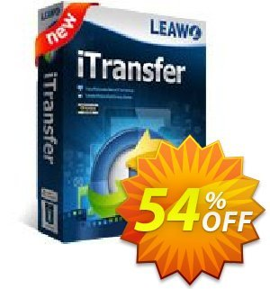 Leawo iTransfer Coupon, discount Leawo coupon (18764). Promotion: Leawo discount