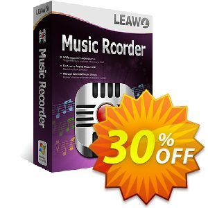Leawo Music Recorder discount coupon Leawo coupon (18764) - Leawo discount
