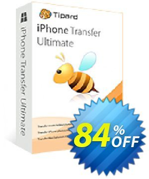 Tipard iPhone Transfer Lifetime License割引コード・Tipard iPhone Transfer Ultimate exclusive promo code 2020 キャンペーン:50OFF Tipard