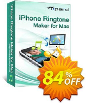 Tipard iPhone Ringtone Maker for Mac Coupon, discount 50OFF Tipard. Promotion: 50OFF Tipard