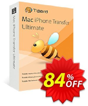 Tipard iPhone Transfer Pro for Mac Coupon, discount 50OFF Tipard. Promotion: 50OFF Tipard