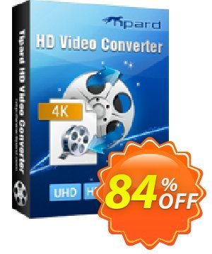 Tipard HD Video Converter Coupon, discount Tipard HD Video Converter awesome deals code 2020. Promotion: 50OFF Tipard