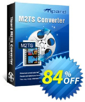 Tipard M2TS Converter Coupon, discount Tipard M2TS Converter excellent discounts code 2021. Promotion: 50OFF Tipard