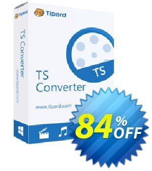 Tipard TS Converter Coupon, discount Tipard TS Converter wondrous sales code 2021. Promotion: 50OFF Tipard