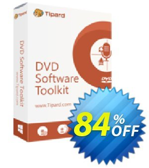 Tipard DVD Software Toolkit Lifetime License Coupon, discount Tipard DVD Software Toolkit amazing promotions code 2019. Promotion: 50OFF Tipard