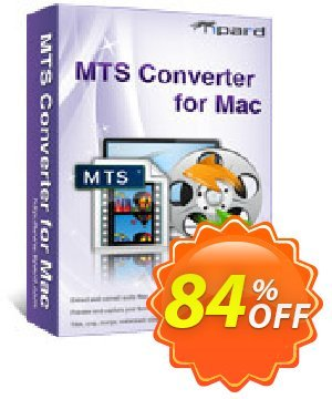 Tipard MTS Converter for Mac 優惠券,折扣碼 Tipard MTS Converter for Mac super promo code 2020,促銷代碼: 50OFF Tipard