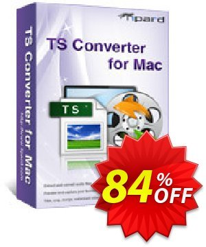 Tipard TS Converter for Mac Coupon, discount 50OFF Tipard. Promotion: 50OFF Tipard