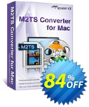 Tipard M2TS Converter for Mac Coupon, discount Tipard M2TS Converter for Mac big promotions code 2020. Promotion: 50OFF Tipard