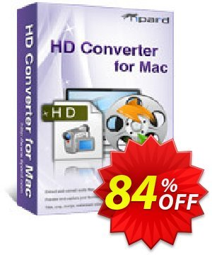 Tipard HD Converter for Mac Coupon, discount Tipard HD Converter for Mac exclusive offer code 2020. Promotion: 50OFF Tipard