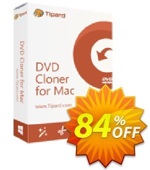 Tipard DVD Cloner for Mac Coupon discount Tipard DVD Cloner for Mac awful discount code 2019 - 50OFF Tipard