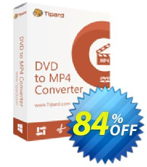 Tipard DVD to MP4 Converter Coupon, discount 50OFF Tipard. Promotion: 50OFF Tipard