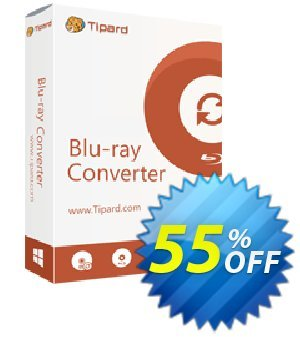 Tipard Blu-ray Converter Lifetime License Coupon, discount 50OFF Tipard. Promotion: 50OFF Tipard