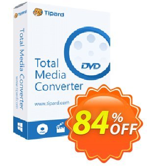 Tipard Total Media converter for Mac Lifetime discount coupon 50OFF Tipard - 50OFF Tipard