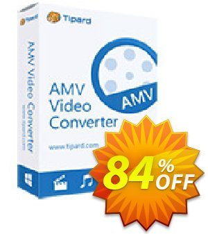 Tipard AMV Video Converter Coupon discount 50OFF Tipard - 50OFF Tipard