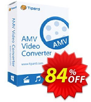 Tipard AMV Video Converter for Mac discount coupon 50OFF Tipard - 50OFF Tipard