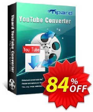 Tipard Youtube Converter Lifetime License discount coupon Tipard Youtube Converter stunning deals code 2020 - 50OFF Tipard