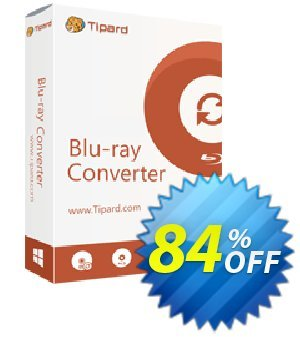 Tipard Blu-ray to MP4 Ripper discount coupon 50OFF Tipard - 50OFF Tipard