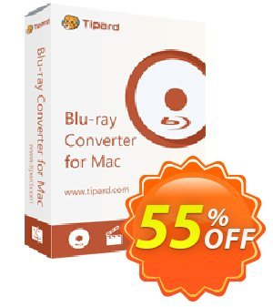Tipard Blu-ray Converter for Mac Lifetime License Coupon, discount 50OFF Tipard. Promotion: 50OFF Tipard