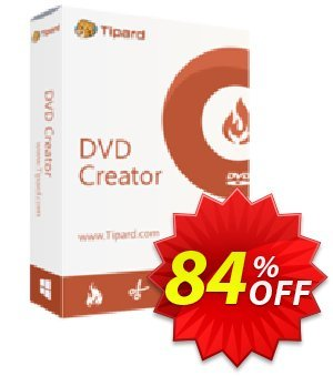 Tipard DVD Creator Lifetime License 優惠券,折扣碼 Tipard DVD Creator super promotions code 2019,促銷代碼: 50OFF Tipard