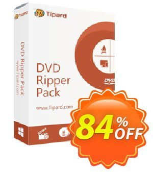 Tipard DVD Ripper Pack Platinum Lifetime discount coupon Tipard DVD Ripper Pack Platinum super sales code 2021 - 50OFF Tipard