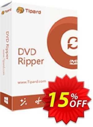 Tipard DVD Ripper Multi-User License (5 MACs) discount coupon 84% OFF Tipard DVD Ripper Multi-User License (5 MACs), verified - Formidable discount code of Tipard DVD Ripper Multi-User License (5 MACs), tested & approved