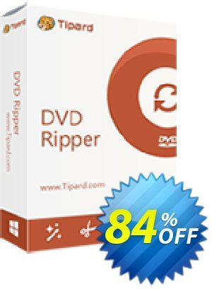 Tipard DVD Ripper Platinum discount coupon Tipard DVD Ripper Platinum amazing promo code 2021 - 50OFF Tipard