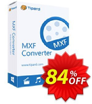 Tipard MXF Converter Lifetime License Coupon, discount 50OFF Tipard. Promotion: 50OFF Tipard