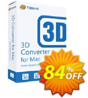 Tipard 3D Converter for Mac Coupon, discount 50OFF Tipard. Promotion: 50OFF Tipard