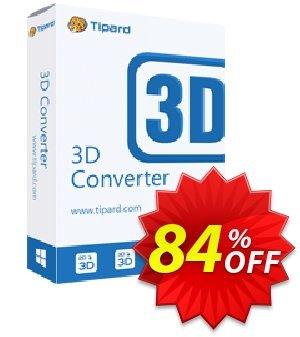 Tipard 3D Converter Coupon, discount Tipard 3D Converter formidable sales code 2020. Promotion: 50OFF Tipard