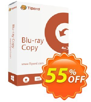Tipard Blu-ray Copy Lifetime License 優惠券,折扣碼 Tipard Blu-ray Copy fearsome deals code 2020,促銷代碼: 50OFF Tipard