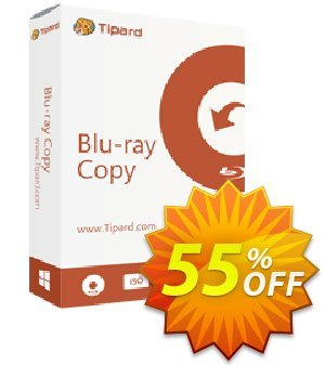 Tipard Blu-ray Copy discount coupon 55% OFF Tipard Blu-ray Copy (1 year), verified - Formidable discount code of Tipard Blu-ray Copy (1 year), tested & approved